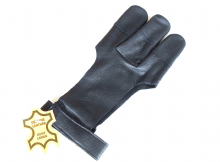 Archers Leather Shooting 3 Finger Glove - LARGE